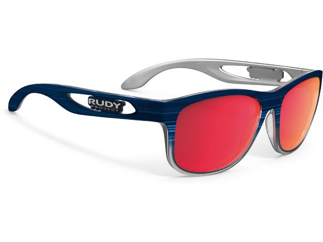 Rudy Project Groundcontrol Cykelbriller rød/blå | Glasses